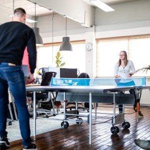 Tafeltennis kantoor Nordique